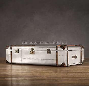 RICHARDS' Aluminum TRUNK COFFEE TABLE