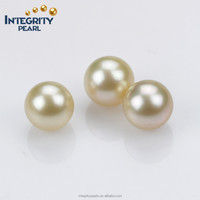 12mm AAA big size real golden wholesale natural south sea loose pearl