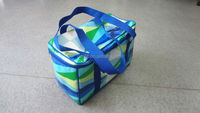 Non woven laminated thermal wine cooler carrier bag