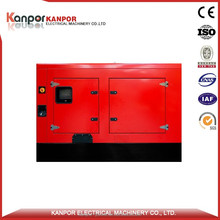Made in china 26.4KW/33KVA quiet diesel generator with CE&ISO&BV