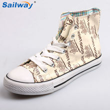 2014 new style special material upper mid cut sneakers for women
