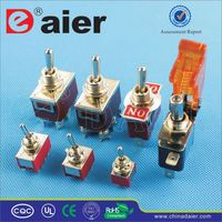 Daier 5v white light toggle switch
