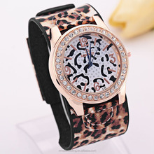 Best Selling Products 4 colors female leopard design outdoor watch