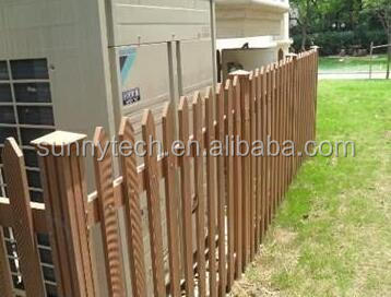 Popular China Factory Bamboo Composite Decking WPC Fence Made In China,Removable Guardrail