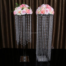 New product low price pillars stands flowers with different size