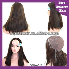 Wholesale unproessed virgin remy russian hair highlight color skin base glueless full lace wig