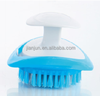 Hot selling MINI Plastic fruits cleaning brush pan,dish,pot cleaning brush in hand