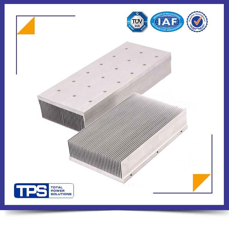TPS custom extruded aluminum electronic enclosures