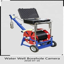 Water Well Camera for Borehole Wall, Underwater 360 Degree Borewell Deep Water Well Inspection Camera