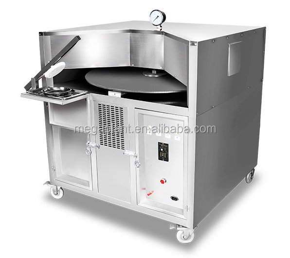 LPG Gas Heating Arabic Pita Bread Oven Machine Arabic Bread Maker