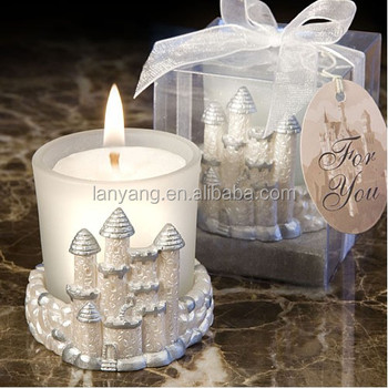 Castle Wedding Favors Candles Wholesale
