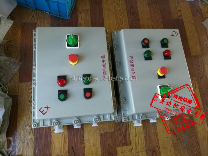 Factory price customized size control panel box explosion electrical distribution box IP65