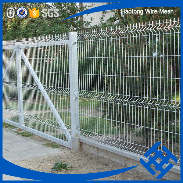pvc coated white wire mesh fence roll