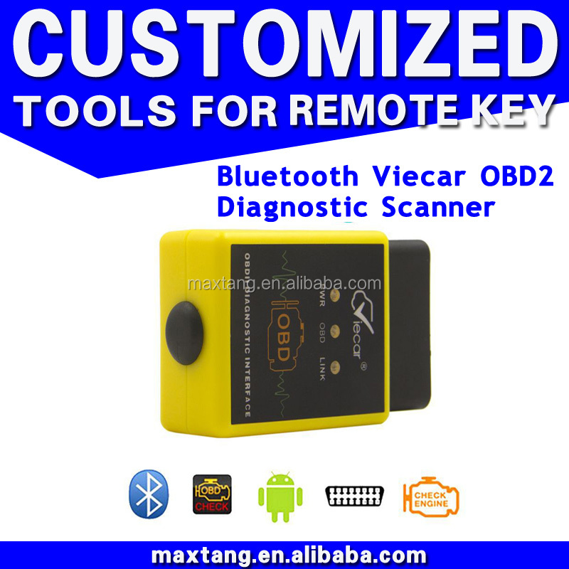 V1.5 ELM 327 Automotive Scanner OBD2 Tester Adapter For PC Android Bluetooth EM017