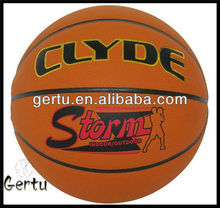 High quality promotion good touch pu basketball