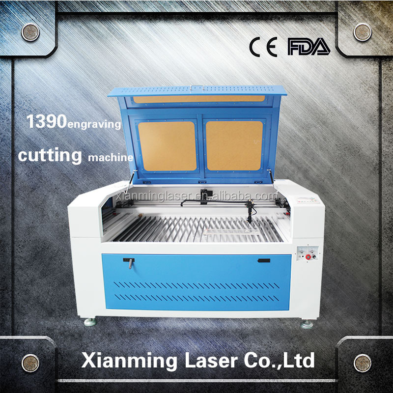 shandong laser factory100w laser engraving and cutting machine 1390 MDF cutter cheap price