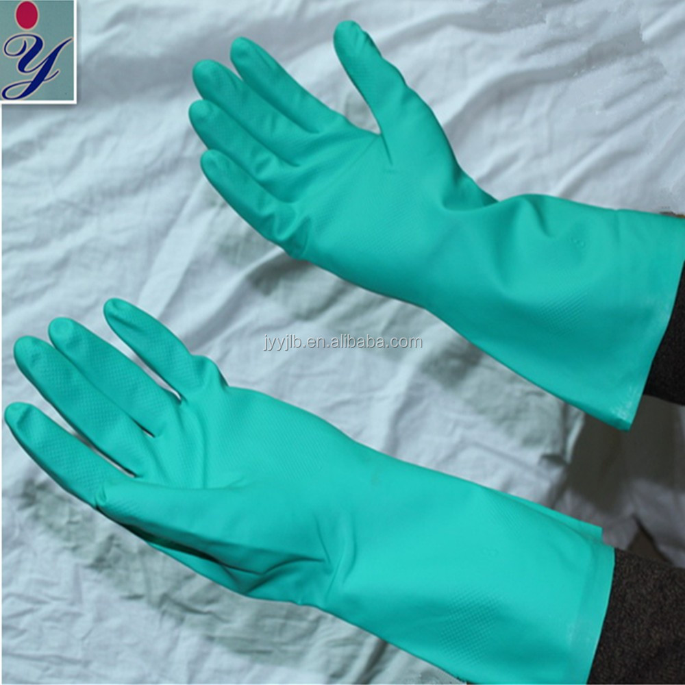 Chemical Resistance Anti-Corrosion Nitrile Gloves/Chemical Nitrile Gloves
