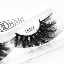 Wholesale 2018 Luxury 3D Mink False Strip Eyelashes with Cheap Eye Lashes Private Label Packaging