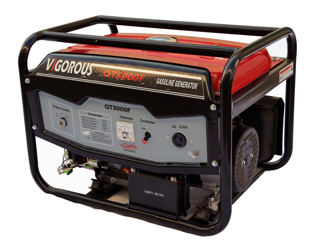 Factory Direct Sales 3000W Gasoline Generator for Home Back Up