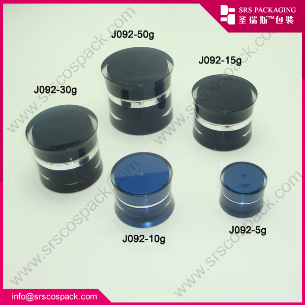 5ml Cosmetic Eyelash Container Acrylic sample Jar Tester Wholesale