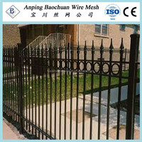 Aliexpress HDG Steel Crimped Top Fence