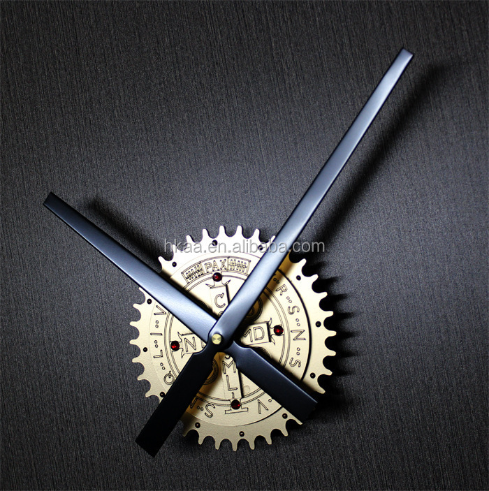 custom OEM Metal gear wall clock wholesale