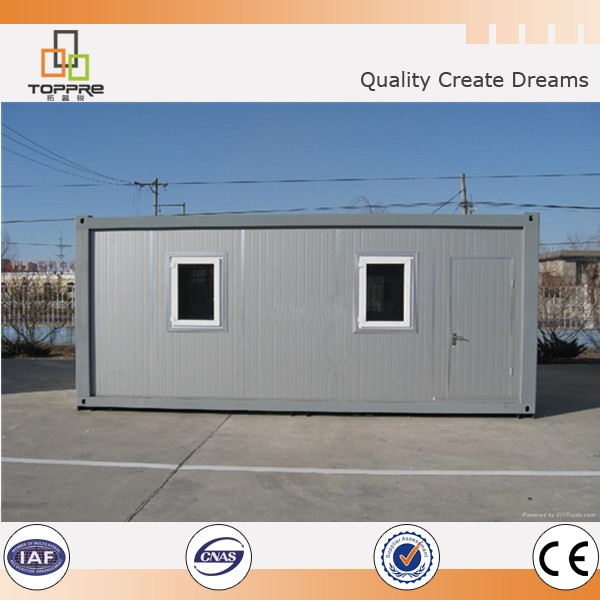 Prefab Steel Structure Flat Pack High Quality Quick Build Container House
