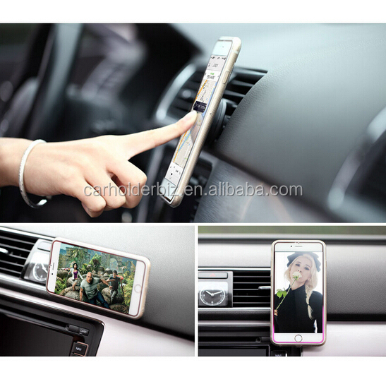 Cell Phone Mount For Car & GPS, Completely Hands Free, Perfect As A Desk Stand For iPhone 6 6S 5 5C 5S, Android, Samsung Galaxy