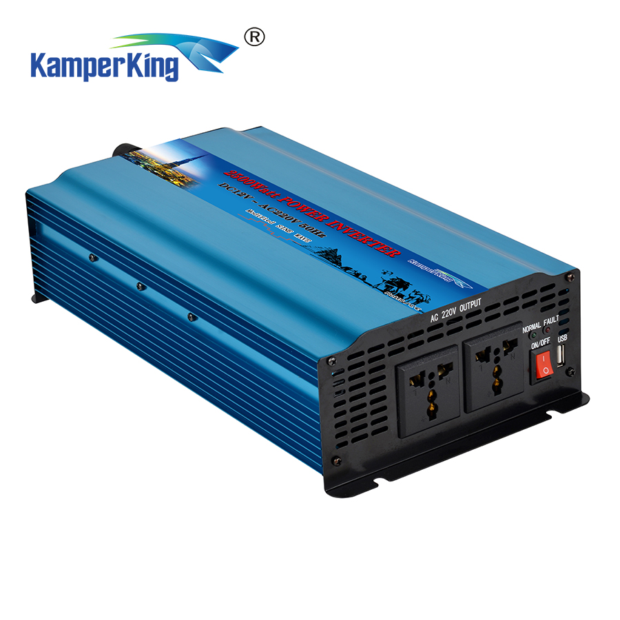 Hot selling 2500w 12v <strong>DC</strong> TO AC modified sine wave power inverter