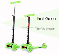 Factory cheap price mini colorful snow ski scooter children new product hot sale on market