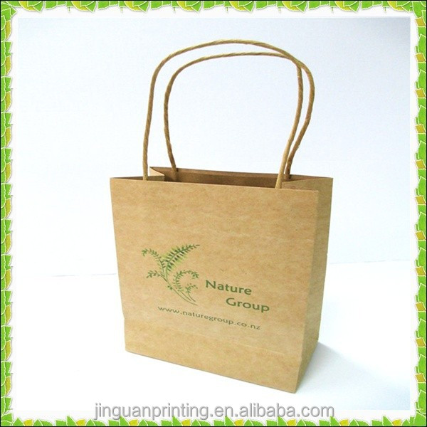 Custom Kraft paper bag /shopping paper bag /craft paper bag with factory price