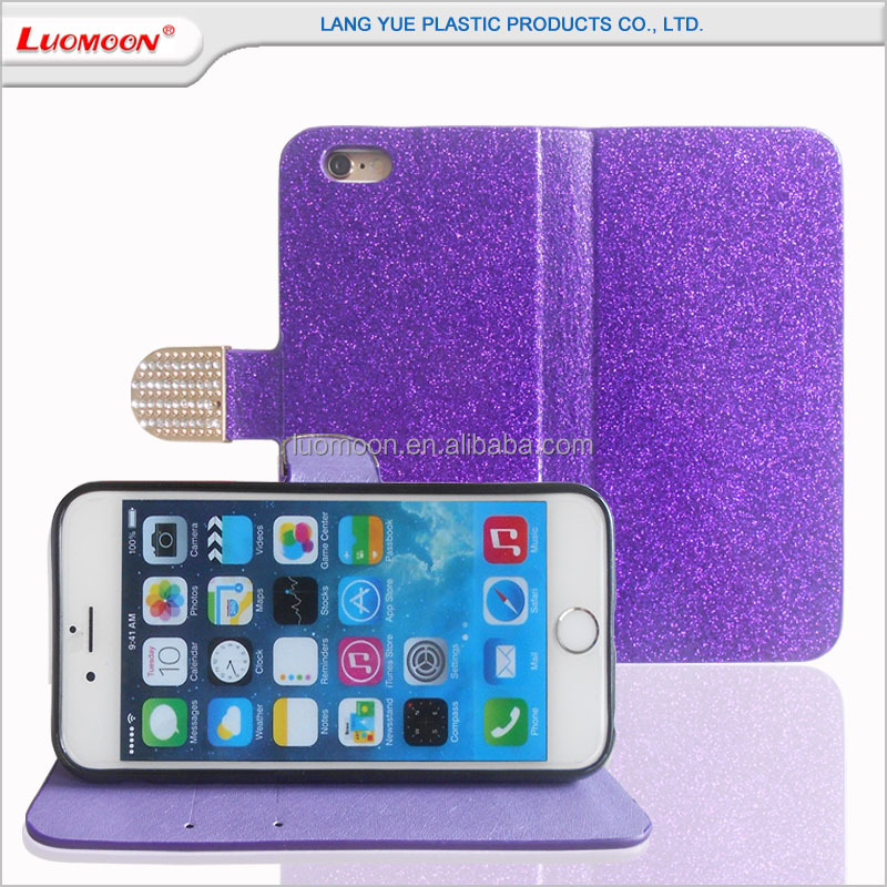 For HTC D616 826 510 516 610 Elegant Purple Color Leather Mobile Phone Cover Case