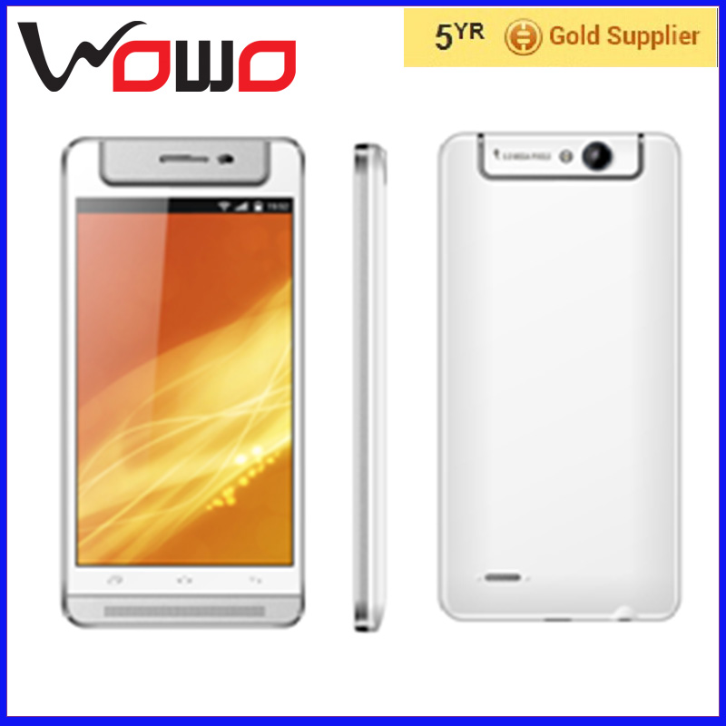 5 inch big screen free shipping mobile phone samples 3G quad core smartphone oem V5