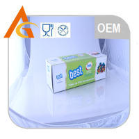 width45cm soft food packing clear food grade plastic wrap pvc cling film jumbo roll