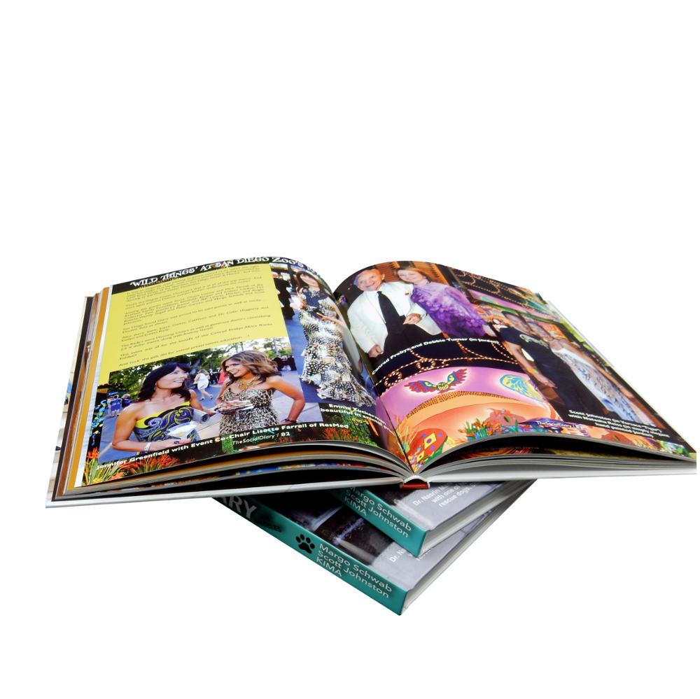 Wholesale cheap full color photo hardcover book <strong>printing</strong>