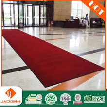 Red runner carpet rug for flooring