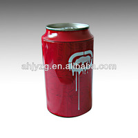 metal cylinder beer barrel shaped packaging tin box