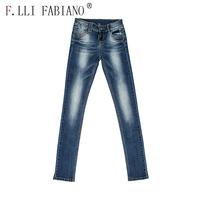 2016 autumn new style latest design denim jeans stretch womens brand ripped jeans for women