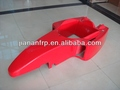 Fiberglass body for F1 racing