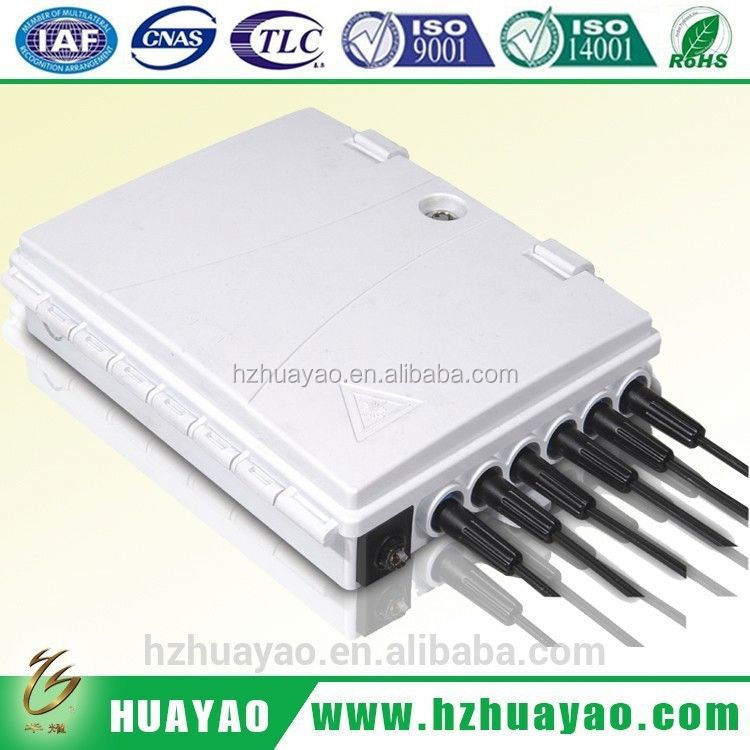 top degree China composite material supplier ftth cable network tools fiber splitter cabinet