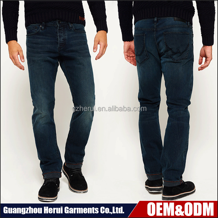 Best Selling Fashion Brand Man Blue Biker Jeans Pants High Quality Cheap Denim Jeans Trousers For Men