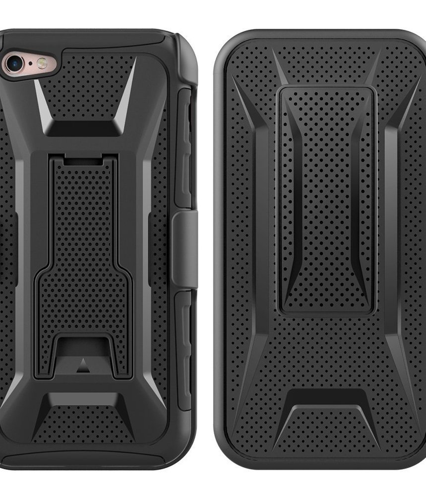 Heavy Duty Armor Shockproof Hard Soft Silicone Phone Case For iPhone 5s/se/5