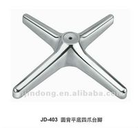 aluminum alloy,polish,spray,electroplate,chrome,restaurant,outdoor,table bases for glass tops,wooden,dining table base