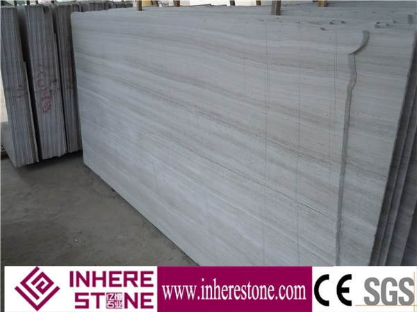 Popular guizhou gray wooden marble tiles