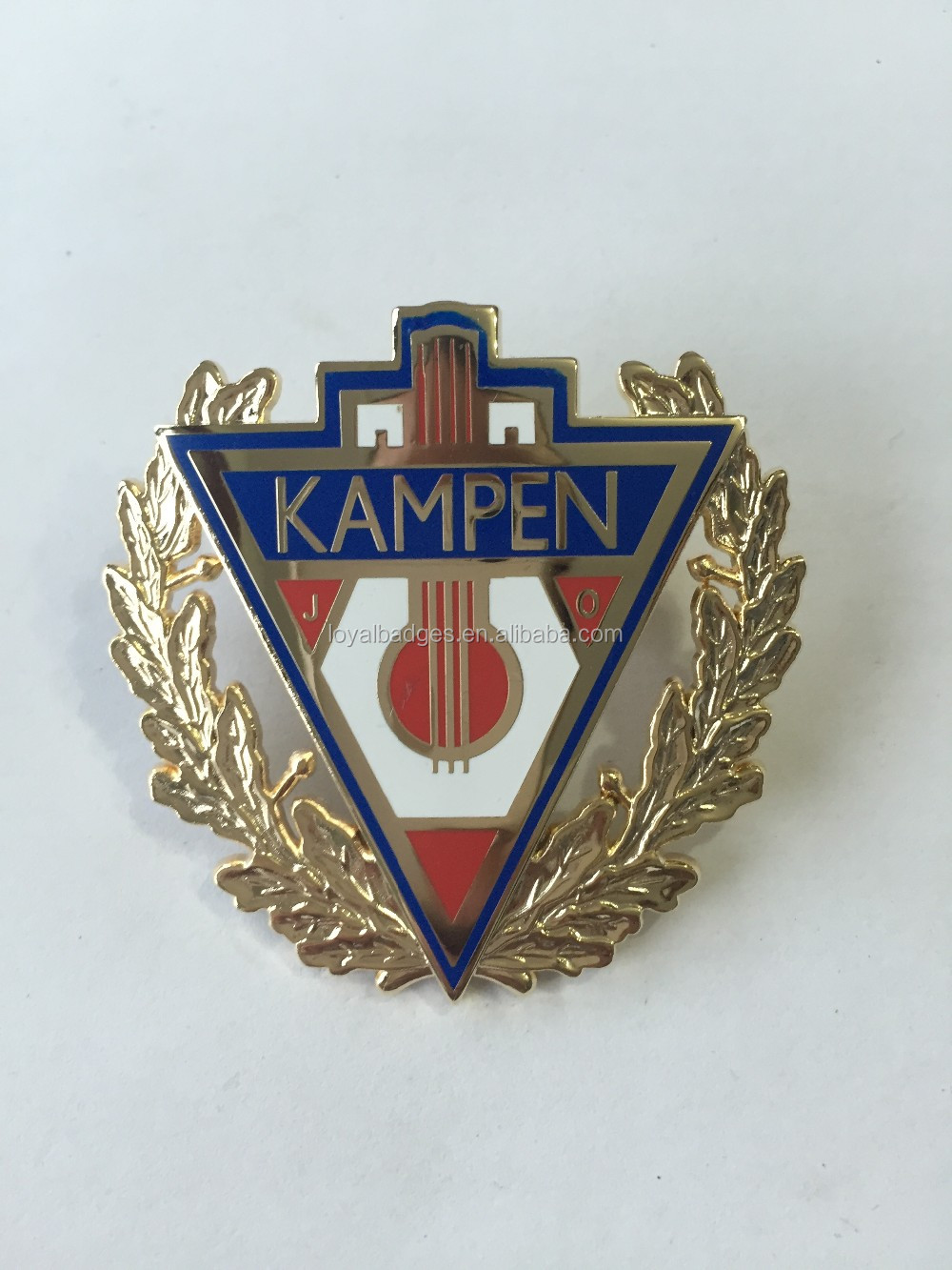 Custom soft enamel lapel pin nurse for hospital
