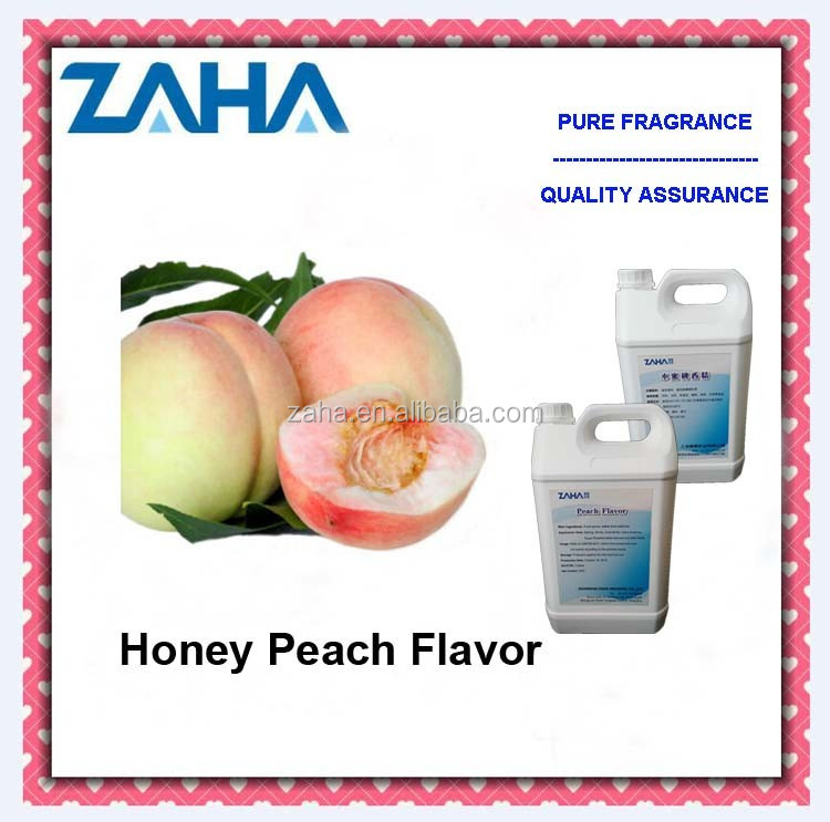 Honey peach flavor with Almond fragrance used in shampoo, shower gel, soap, daily chemical