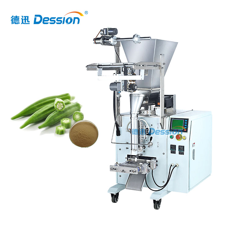 High Capacity Automatic Powder Packing Machine For Dried Okra Powder Packing Machine With Fill And Seal Function