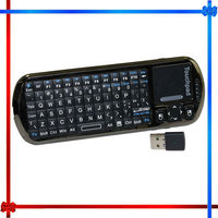 KP-810-18R Mini Wireless Keyboard with IR Remote