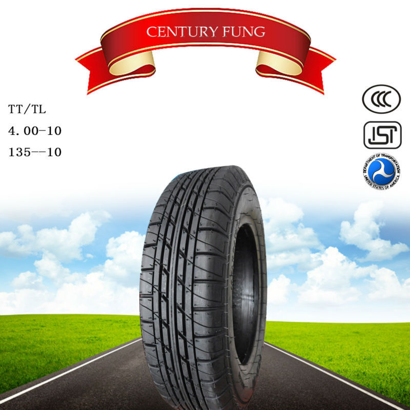 China motorcycle tire 135-10 with BIS certification for all over the world market