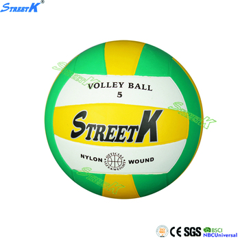 Gold supplier China custom wholesale beach rubber volleyball